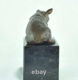 Statue Sculpture Pig Animal Style Art Deco Style Art New Solid Bronze