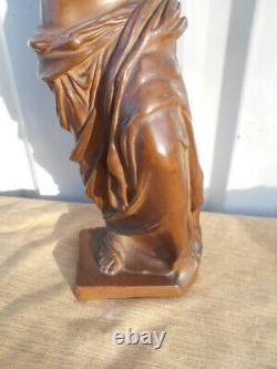 Statuette Style Style Femme Antique Epoque Art Nouveau By Bronze Kanora