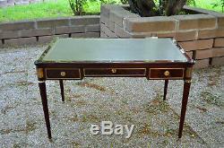 Style Bureau Plat Louis XVI Mahogany