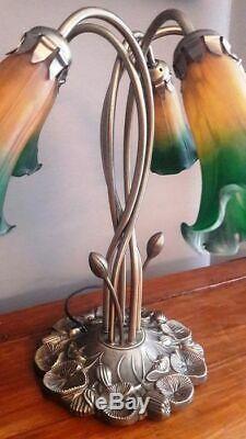 Superb Lamp 5 Tulips Style Art Deco / Art Nouveau In 1950