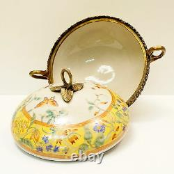 Table Center Flower Box Style Art Deco Style Art New Porcelain Bronze