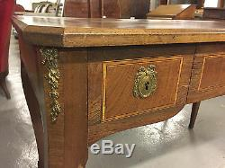 Transition Office Flat Style Louis Xv, Louis XVI Gilt Bronze Inlaid
