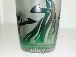 Val Saint Lambert Vase Art Style New Jacqueline Simon