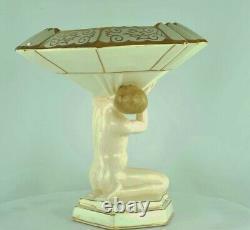 Vase Figure Mata Hari Bathtub Pin-up Sexy Style Art Deco Style Art Nouveau P