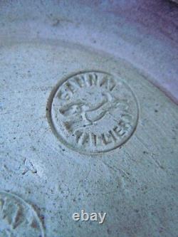 Vase Gres Emaille Gannat Allier Epoque Art Nouveau Style Greber Metenier