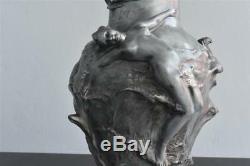 Vase Pewter Art Nouveau Pedro Rigual