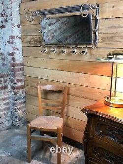 Wallet Coats / Towels Vestibule Style Art Deco Chrome Long 79 CM