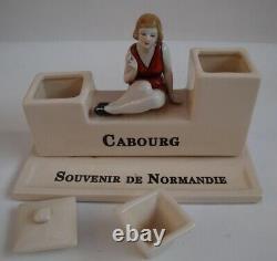 Write Writing Bathtub Normandy Cabourg Style Art Deco Style Art Nouveau