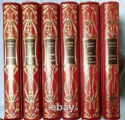 CHEFS-D'UVRES DE PIERRE LOUYS reliure style Art nouveau Editions de l'Ibis Rare