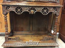 Cabinet de salle à manger argentier style breton époque 1900