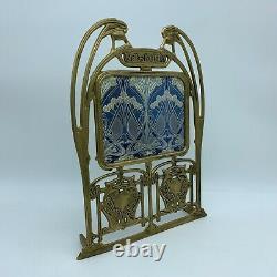 Cadre photograpie Laiton moulé Style Art Nouveau Hector Guimard XX