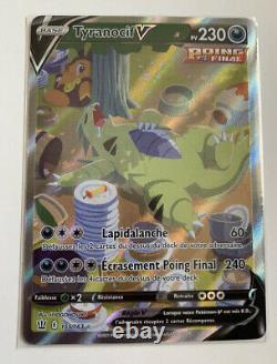 Carte Pokemon Tyranocif V 155/163 FULL ART EB5 Style combat VF potentiel PCA10