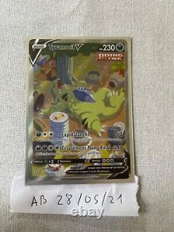 Carte pokemon Tyranocif V 155/163 Styles De Combat Full Art Neuf Potentiel PCA9