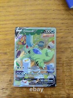 Carte pokemon Tyranocif V Full Art EB5 Styles de Combat 155/163