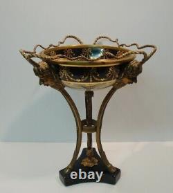 Centre de table Fruitier Style Art Deco Style Art Nouveau Porcelaine