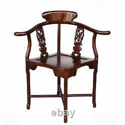 Chaise en hêtre 1900 de style Asiatique