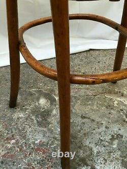 Chaise haute enfant bois courbé style THONET