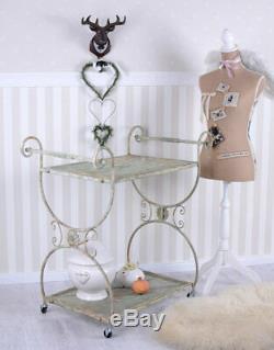 Chariot de Cuisine Shabby Chic Plateus Antique Style