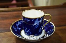 Charmant service égoïste en porcelaine de Limoges, style Art Nouveau