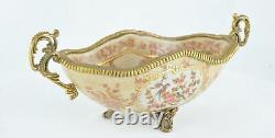 En porte-Savon Fleur Style Art Deco Porcelaine Porcelaine