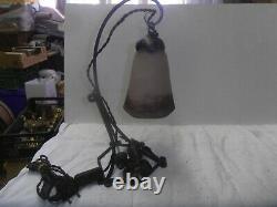 Lampe De Bureau Ancienne Style Art Nouveau Degue