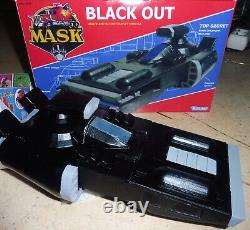 M. A. S. K kenner Mask Black Out for collection vintage style cutom fan art