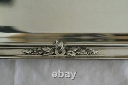 Plateau Gallia Christofle, style Louis XVI, métal argenté