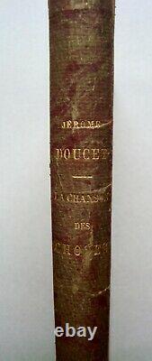 Recueil de Jérôme Doucet illustré par ses amis style Art Nouveau (1898)