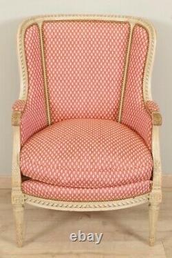 Salon peint style Louis XVI