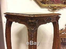 Sellette noyer style Louis XV 1900