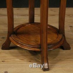 Table de chevet petite table meuble néerlandais salon style ancien Art Nouveau