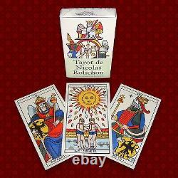 Tarot de Nicolas Rolichon cartes à l'ancienne style Dodal Payen Marseille
