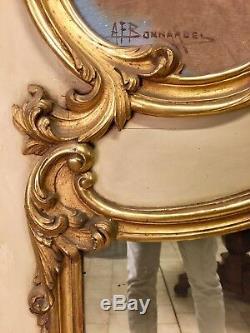 Trumeau style Louis XV signé Bonnardel