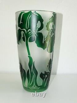 Vase Val Saint Lambert Style Art Nouveau Jacqueline Simon